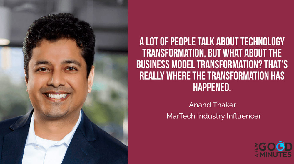 Anand Thaker – In a Cookie-Less World Marketers Won't be Able to Outsource the Relationship They Have With Customers